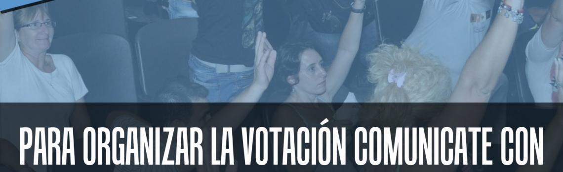 Campaña de elección de Delegadxs de UTE