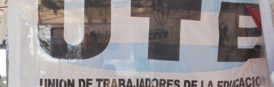 Desde la UTE repudiamos enérgicamente el secuestro y tortura de una maestra de Moreno