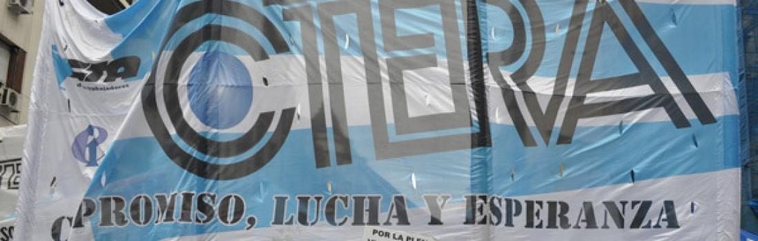 CTERA expresa su repudio a la represión contra trabajadores en la provincia de Santa Cruz