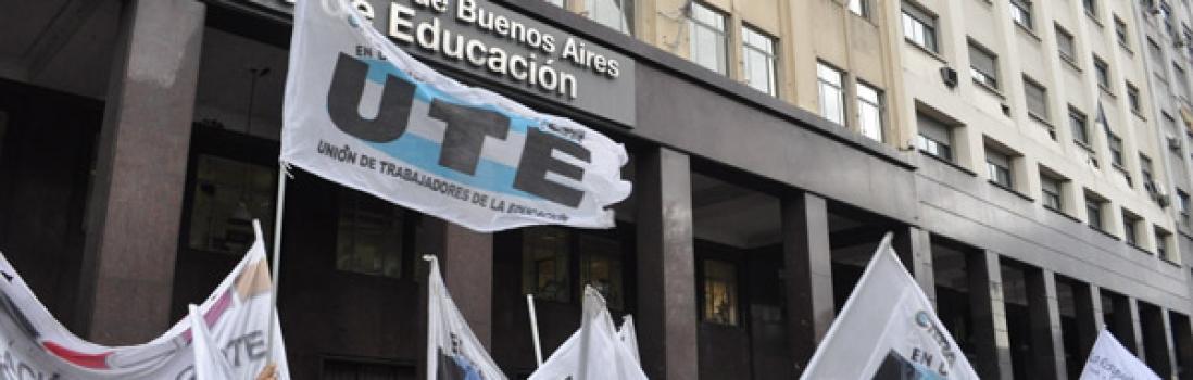 La UTE rechaza la disminución del salario real y las provocaciones a los docentes