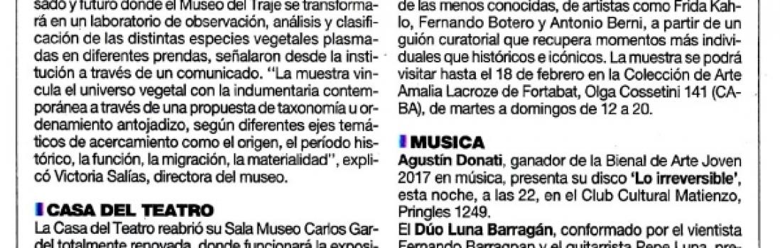 BUENOS AIRES HOY – MÚSICA