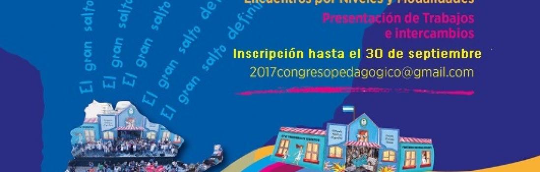 Recordatorio a  lxs participantes del XXII Congreso Pedagógico